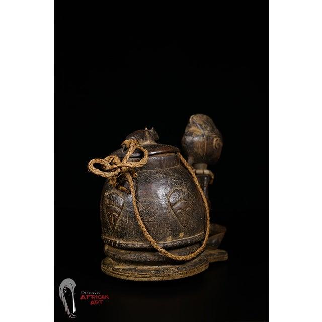 Baule African Tribal Divination Bowl - Image 9 of 11
