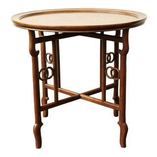 Mid 20th Century Michael Taylor for Baker Far East Collection Occasional Table For Sale