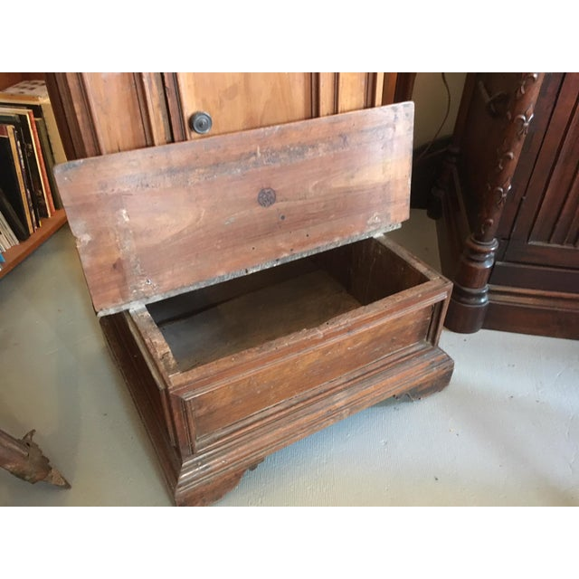 Wood 1900s Renaissance Revival Oak Prie Dieu Watson & Boaler Nightstand For Sale - Image 7 of 11