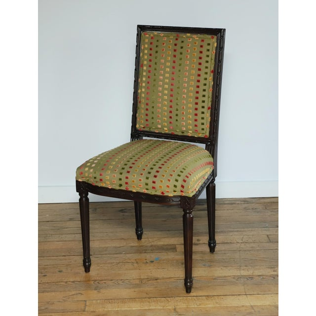 1980s Lewis Mittman Side Chair For Sale - Image 12 of 12