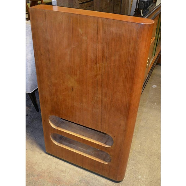 1940s 1940s Art Deco Italian Wood Sidebaord For Sale - Image 5 of 10
