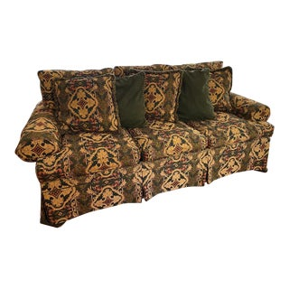 Fireside Fabric Henredon Sofa For Sale
