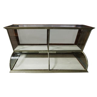 Vintage Two Tiered Showcase For Sale