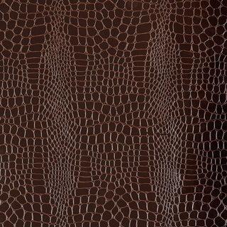 Sample - Schumacher Crocodile Wallpaper in Java For Sale
