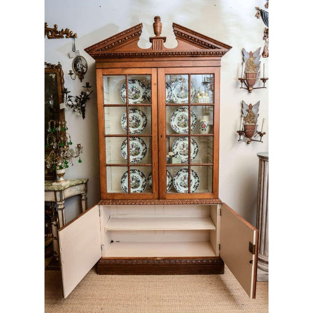 19th Century French Neoclassical Cabinet For Sale - Image 9 of 11
