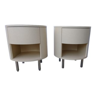 20th Century Contemporary Decca Side Tables - a Pair For Sale