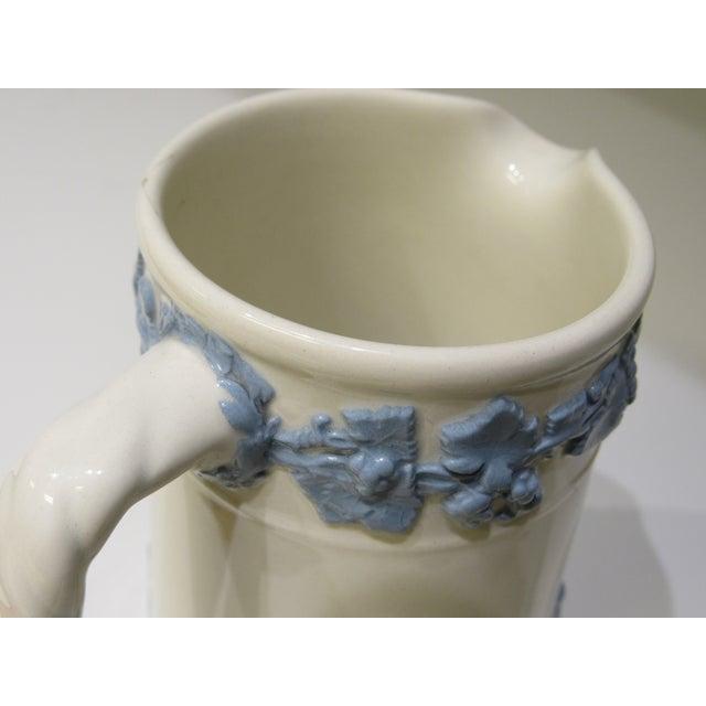 Ceramic Wedgwood Jasperware Greek Scene Pitcher For Sale - Image 7 of 13