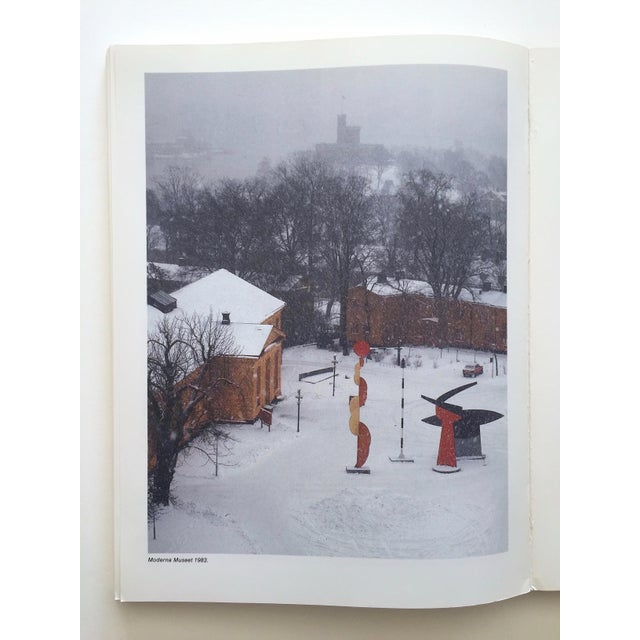 """"""" Moderna Museet Stockholm 1958 - 1983 """" Rare Vintage 1st Edition 25th Anniversary Collector's Modern Art Book For Sale - Image 11 of 13"""