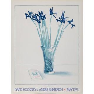 1973 Original David Hockney Poster For Sale
