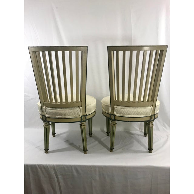 Classical Italian Dining Chairs Set of 4 For Sale - Image 4 of 12