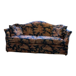 1980s Vintage Baker Furniture Chinoiserie Sofa For Sale