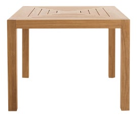 Image of Newly Made Outdoor Dining Tables