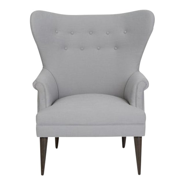 Kim Salmela Olsen Wingback Chair For Sale