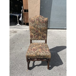 1900s Vintage French Louis XIII Style Os De Mouton Dining Chair Preview