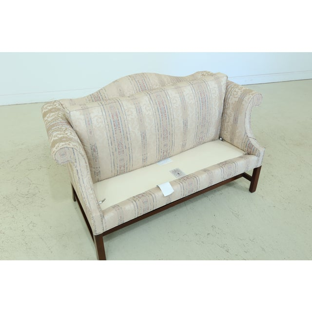 Southwood Chippendale Mahogany Loveseat For Sale - Image 10 of 13