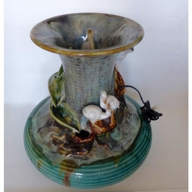 Jar Shape Fountain with Ducks - Image 10 of 10