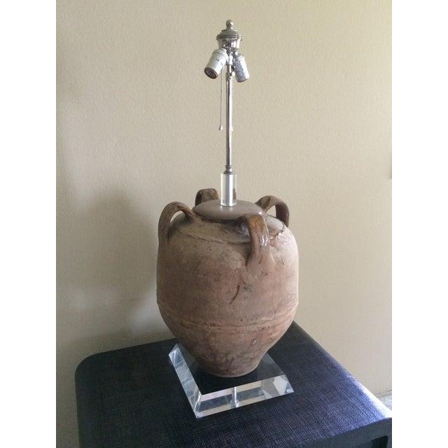 Richard Lindley Olive Jar Lamp - Image 11 of 11