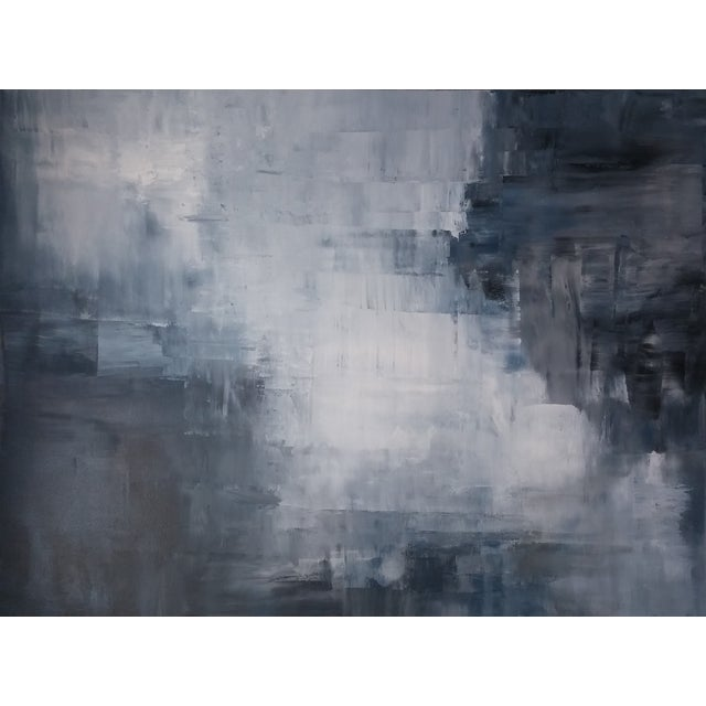 """Shale"" Original Abstract Painting by Kris Gould - Image 1 of 5"