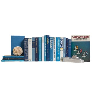 White Caps Nautical Book Collection For Sale