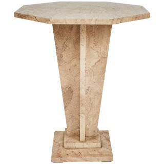 1930s French Art Deco Marble Side End or Coffee Table For Sale