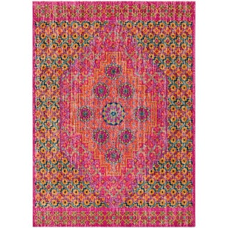 Modern Multi- Colored Rug- 7′6″ × 10′6″ For Sale