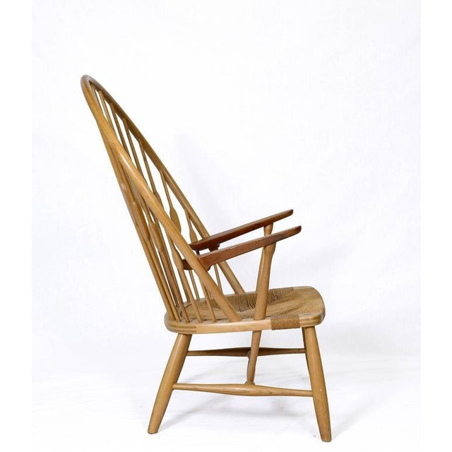 "Hans Wegner ""Peacock"" Chair For Sale - Image 4 of 9"