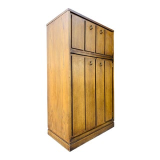 Vintage Bar Cabinet by Lane Furniture For Sale