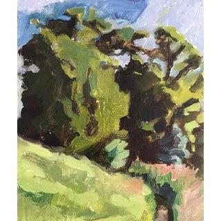 Original Oil Painting - Summer Landscape For Sale
