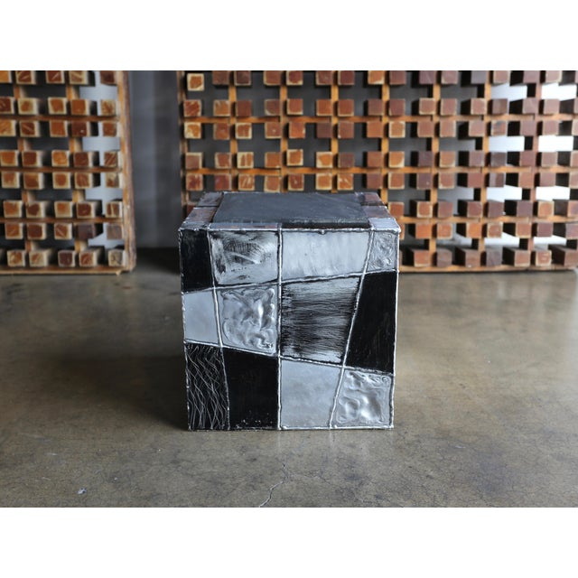 "Paul Evans ""Argente"" Cube Side Tables For Sale - Image 10 of 13"