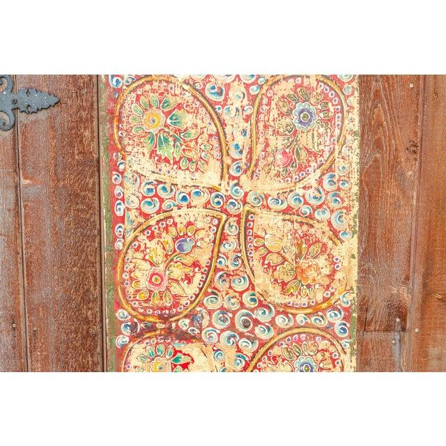 Metal Antique Kunchen Tibetan Door For Sale - Image 7 of 11