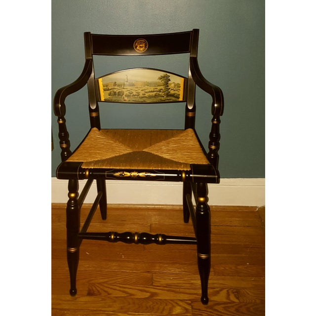 Hamilton College Hitchcock Accent Chair - Image 2 of 11