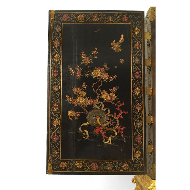 17th Century Chinese Coromandel Cabinet on a Charles II Gilt-Wood Stand For Sale In New York - Image 6 of 12