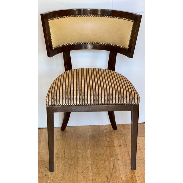 1990s Dessin Fournir Kerry Joyce Klismos Chair For Sale - Image 5 of 6