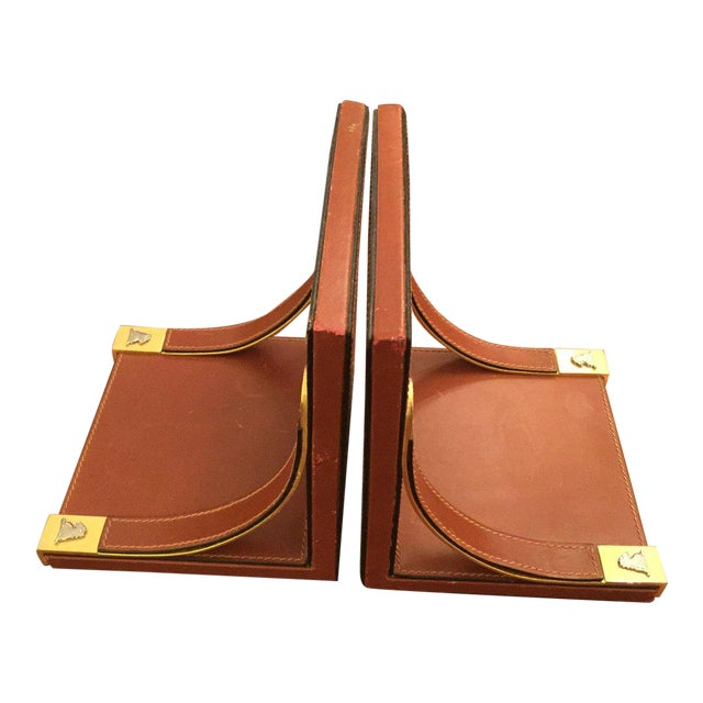 Mark Cross Bookends For Sale
