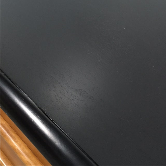 Widdicomb Black Lacquer Dressers - A Pair - Image 5 of 6