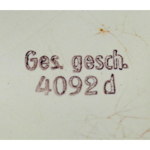 Metal Art Deco German Enameled Metal Bread Box For Sale - Image 7 of 11