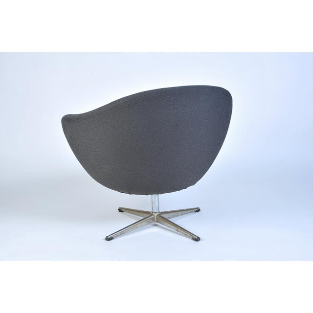 Overman Pod Swivel Chairs - A Pair For Sale In Seattle - Image 6 of 8