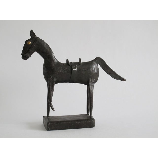 Brutalist Horse Sculpture For Sale - Image 5 of 5