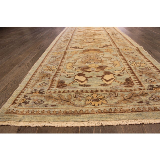 """Persian Sultanabad Rug - 3'2"""" x 13'9"""" - Image 5 of 10"""