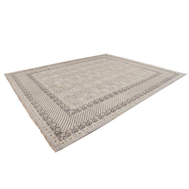 21st Century Modern Kohtan Wool Rug For Sale - Image 12 of 13