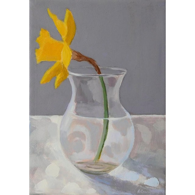 2010s Daffodil by Anne Carrozza Remick For Sale - Image 5 of 6