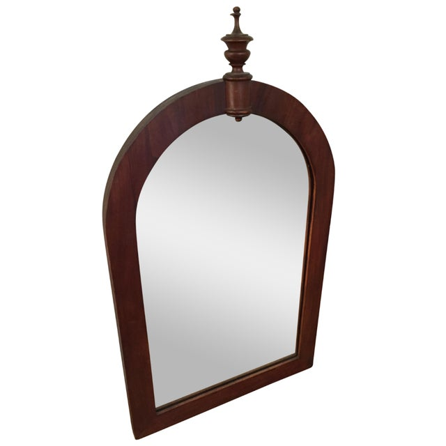 Antique Wood Framed Mirror - Image 1 of 6