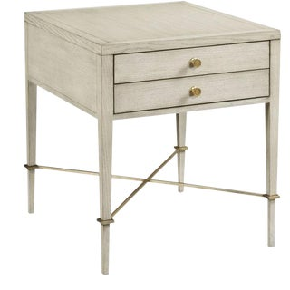 Woodbridge Neo-Classic Stella Side Table For Sale