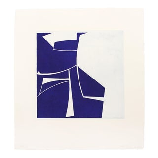 "Joanne Freeman ""Covers 2 Ultramarine"", Print For Sale"