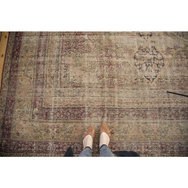"Antique Persian Kerman Carpet - 9' X 13'1"" - Image 6 of 10"