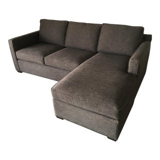 Crate and Barrel Davis Sofa For Sale