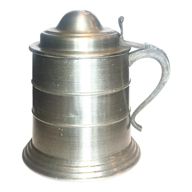 Huge Pewter Stein Ice Bucket For Sale