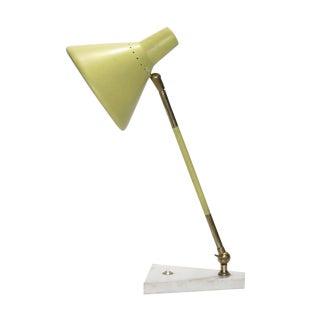 Stilux Marble Based Desk Lamp For Sale