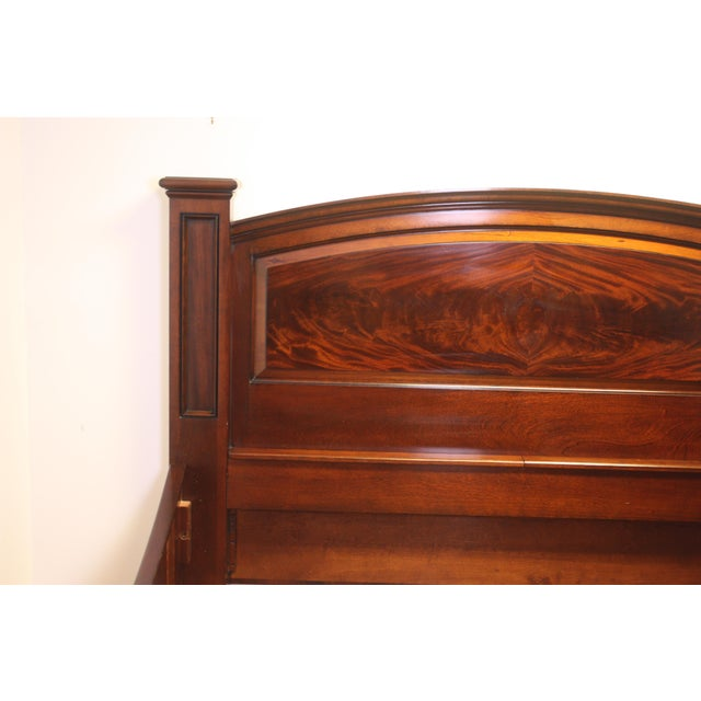 King Bed Frame by M. Craig For Sale In West Palm - Image 6 of 13