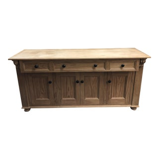Custom English Country Pine Designs Credenza